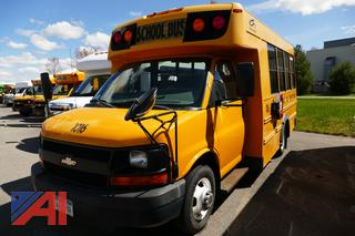 (#1016) 2009 Chevy Express LS 3500 Mini School Bus