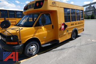 (#V387) 2009 Chevy Express LS 3500 Mini School Bus