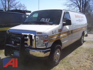 2013 Ford E350 Van/Police Vehicle