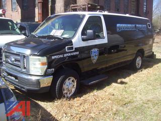 2008 Ford E350 Van/Police Vehicle