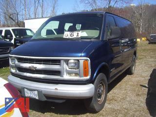 2001 Chevy 2500 Express Van