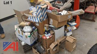 Oil Filters, Parts and Electric Motors - New/Old Stock