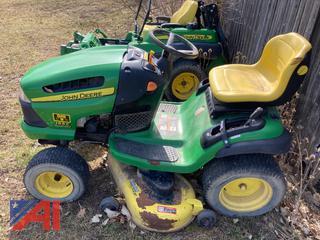 "John Deere 155c 48"" Lawn Mower"