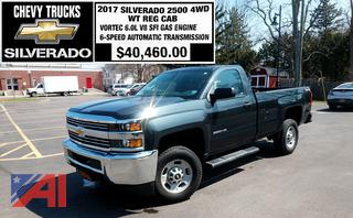 2017 Chevy Silverado 2500HD Pickup Truck