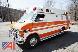 1988 Dodge Ram B350 Ambulance