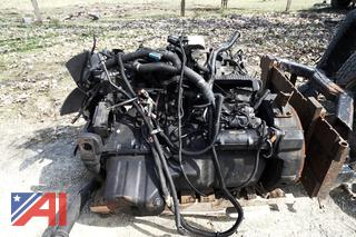 2012 Maxxforce DT466 Engine