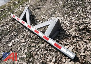 8' Galvanized Rear ICC Bumper