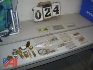 Jewelry, Watches and Ipods