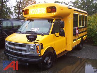 2000 Chevy 3500 Mini School Bus