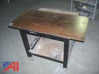 Maver Steel Top Table