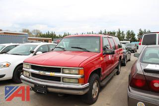 1999 Chevy K1500 Suburban *Parts Only*