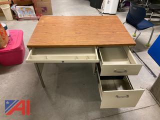 Metal Folding Tables & Desks