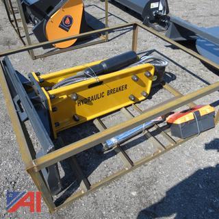 Skid Steer ZW-750 Hydraulic Breaker