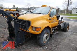 2003 Ford F750 Cab and Chassis