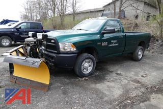 2014 Dodge RAM 2500 Pickup Truck with V-Plow