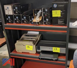 Okipage 14i Printer, HP 6540 LaserJet & Toner Cartridges