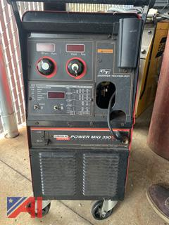 Lincoln Electric Power Mig 350 Welders
