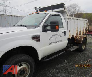 (#2) 2008 Ford F350 XL Super Duty Garbage Dump Truck