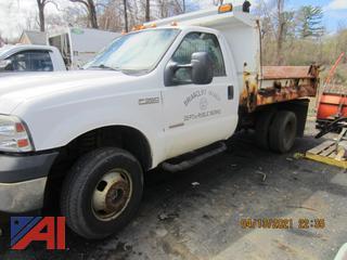 (#5) 2007 Ford F350 XL Super Duty Dump Truck