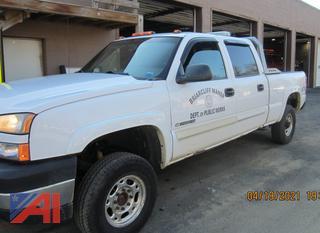 (#6) 2007 Chevy Silverado Classic 2500HD LS Crew Cab Pickup Truck