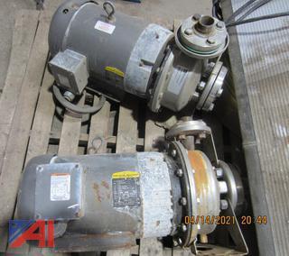 (#11) Baldor Pump Motors