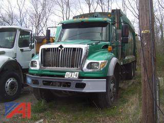 2007 International 7600 Packer/Garbage Truck