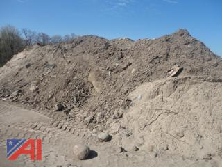 Over 1,500 Yards of Unscreened Roadside Topsoil