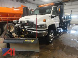 2009 GMC C4500 Dump Truck with Plow