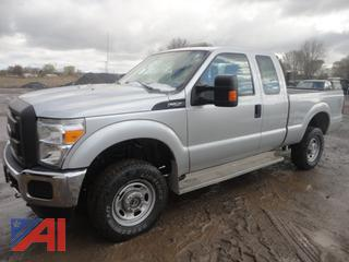 2015 Ford F250 XL Super Duty Extended Cab Pickup Truck