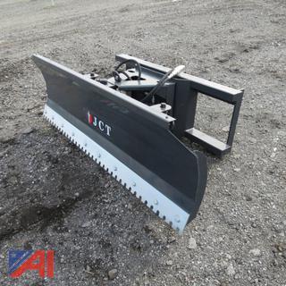 Skid Steer 6' Plow Dozer Blade