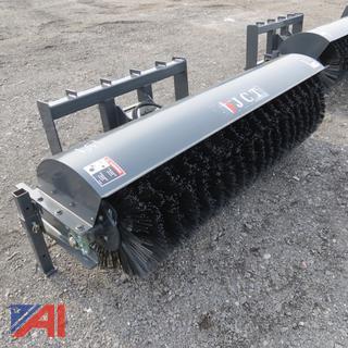 Skid Steer 6' Hydraulic Broom