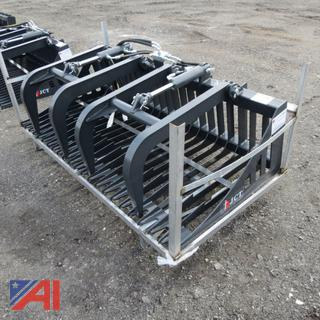 Skid Steer 6' Skeleton Grapple Bucket