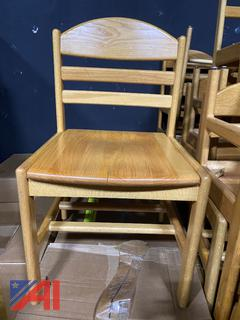 Wood Student Chairs