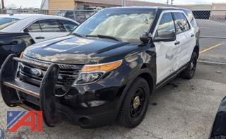 2013 Ford Explorer SUV/Police Vehicle