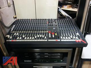 Crest Amps Mixer & Audio System