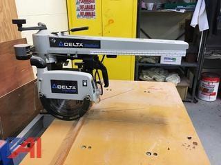 Delta Radial Arm Saw With Table