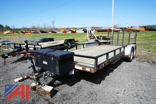 2011 PJ 20' x 7' Utility Trailer with Folding Ramp/5