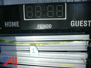 Scoreboards and Shot Clocks