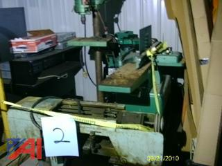 Powermatic Drill Presses, Grizzly Sander and More
