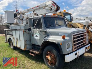 1989 International S1954 Bucket Truck