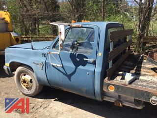 1988 Chevy R30 Flat Bed Pickup Truck