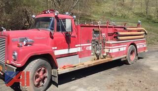 1966 International Fleetstar Fire Truck