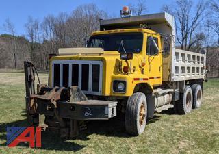 1984 International F2674 Benson Alum Dump Truck