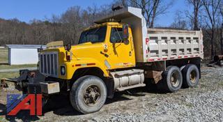 1986 International F2574 Benson Alum Dump Truck