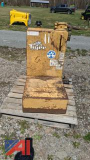 Tiger Mower Oil Tank
