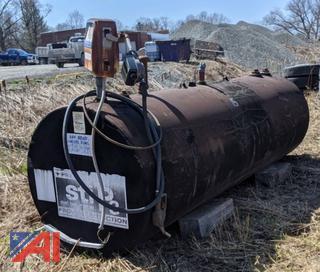 Under Ground Fuel Tank with Gasboy Pump