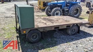 4 Wheel Wagon with Tool Box