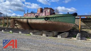 1912 Great Lakes Towing Co. Tug Grouper Boat