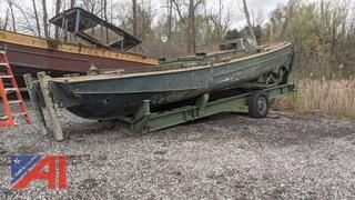 Higgins - US Military Surplus 27' Bridge- Erection Boat
