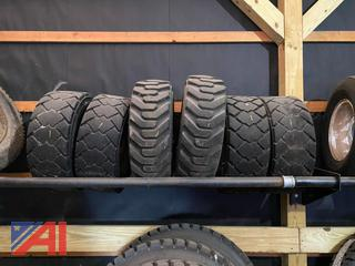 Skid Steer Tires On Rims